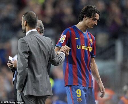 Ibrahimovic và Guardiola nói gì về nhau trước derby Manchester? - ảnh 1