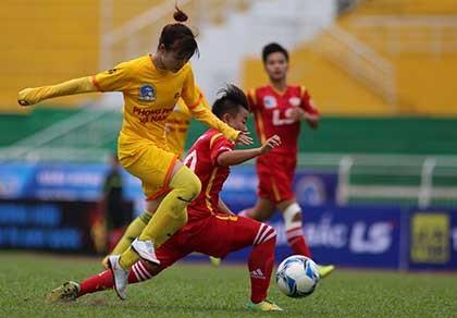 Giải bóng đá nữ quốc gia: Sau hai lượt đi, về là đá knock out - ảnh 1