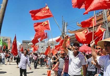 Báo Trung Quốc tố nước ngoài can thiệp vào thôn Ô Khảm - ảnh 1