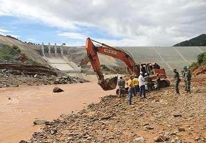 Chưa tìm thấy hai công nhân ở thủy điện Sông Bung 2 - ảnh 1
