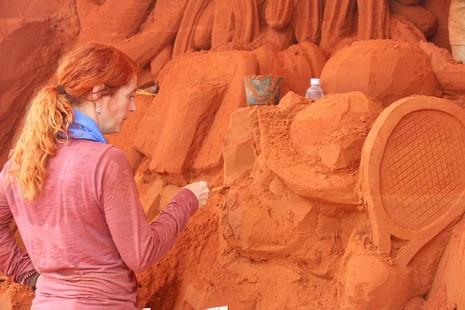 Khởi động công viên tượng cát Forgotten Land - ảnh 2