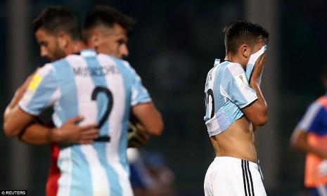 Argentina thua sốc, Brazil tiếm ngôi đầu - ảnh 2