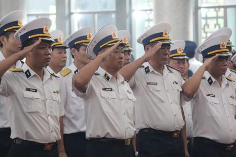 Lễ truy điệu 3 phi công hi sinh khi làm nhiệm vụ - ảnh 31
