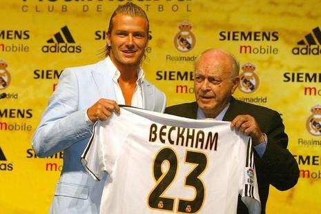 Beckham phủ nhận liên hệ với Real Madrid - ảnh 1