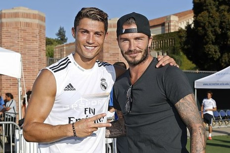 Beckham phủ nhận liên hệ với Real Madrid - ảnh 2