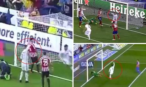 Ronaldo bị nghi tố đồng đội ghi bàn trong thế việt vị - ảnh 1