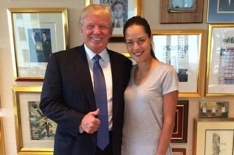 Trump khen vợ sao MU là phụ nữ đẹp nhất mà ông từng gặp - ảnh 1