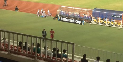 Việt Nam 2-1 Campuchia: Thắng mà không vui - ảnh 1
