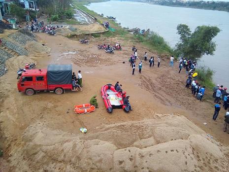 Tìm thấy thi thể thầy giáo mất tích trên sông Thạch Hãn - ảnh 1