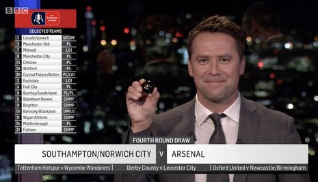Bốc thăm vòng 4 FA Cup: MU dễ thở, Arsenal gặp khó - ảnh 1