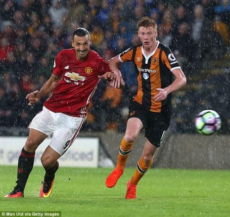Vì sao Ibrahimovic vắng mặt trận MU gặp Hull City? - ảnh 1