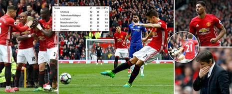 Nhìn lại màn đại chiến kinh điển giữa MU và Chelsea - ảnh 19