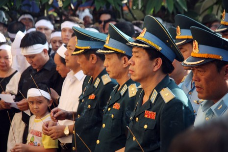 Tiễn đưa Đại tá Trần Quang Khải về nơi an nghỉ cuối cùng - ảnh 6