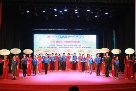 Hà Nội: 13.000 tình nguyện viên sẽ tham gia tiếp sức mùa thi - ảnh 1
