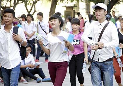Công bố số lượng thí sinh dự thi THPT quốc gia - ảnh 1
