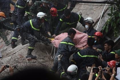 nạn nhân sập nhà hà nội cuối cùng tử vong