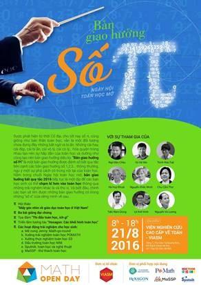 GS Ngô Bảo Châu sẽ tham gia ngày hội Toán học tại Hà Nội - ảnh 1