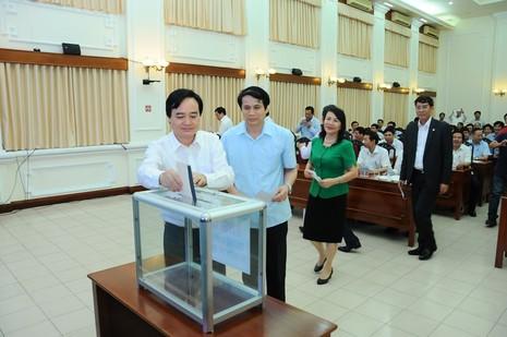 Bộ GD&ĐT tổ chức lễ quyên góp ủng hộ người vùng lũ - ảnh 1