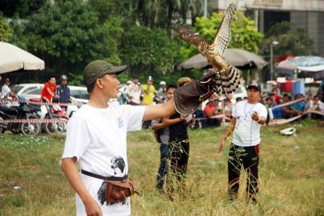 Hào hứng với hội thi chim ở Hà Nội - ảnh 12