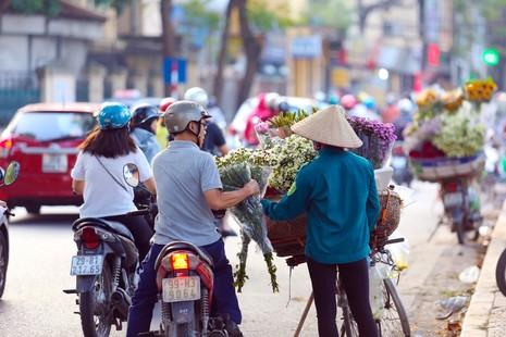Thiếu nữ Hà thành 'đọ sắc' cùng hoa cúc họa mi - ảnh 16