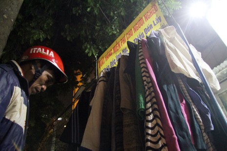 Hà Nội: Xuất hiện tủ quần áo miễn phí cho người nghèo - ảnh 12