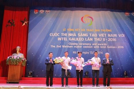 Tác phẩm nào đoạt giải cuộc thi 'Nhà sáng tạo Việt'? - ảnh 1