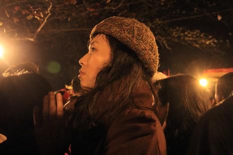 Hàng ngàn người nghẹt thở chờ phát ấn đền Trần  - ảnh 12