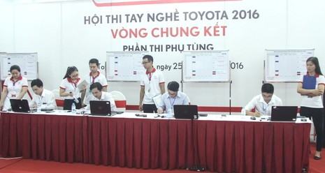 Hội thi tay nghề Toyota 2016 - lần thứ 18 - ảnh 2