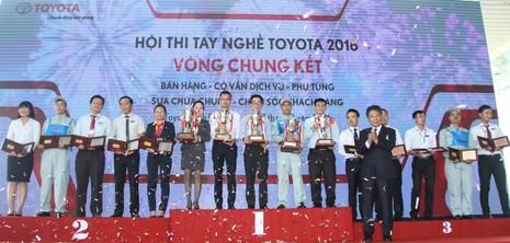Hội thi tay nghề Toyota 2016 - lần thứ 18 - ảnh 3