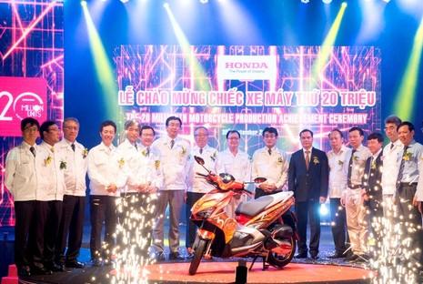 Honda Việt Nam xuất xưởng chiếc xe máy thứ 20 triệu - ảnh 2