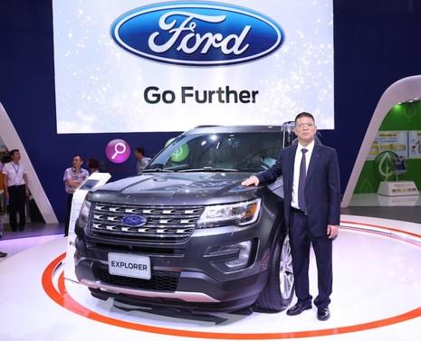 Nhiều xe mới xuất hiện ở triển lãm ô tô Việt Nam 2016 - ảnh 1