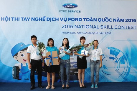 Ford VN tổ chức Hội thi tay nghề dịch vụ toàn quốc - ảnh 3