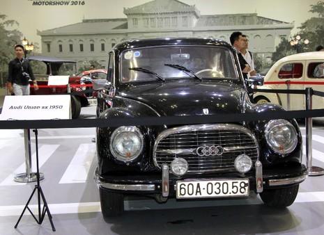Một góc xe cổ tại triển lãm VIMS 2016 - ảnh 5