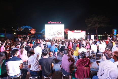 Honda tổ chức lễ chiến thắng của Marc Marquez 93 - ảnh 3
