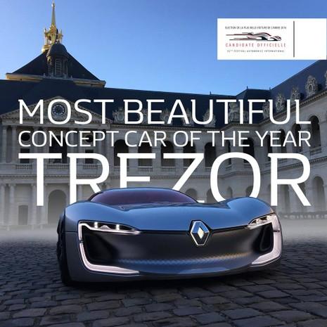 Renault TRÉZOR: mẫu Concept-Car đẹp nhất 2016 - ảnh 2