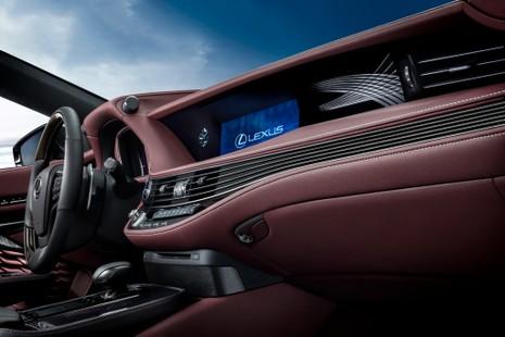 Hào nhoáng mẫu xe Lexus LS 500h hoàn toàn mới - ảnh 11