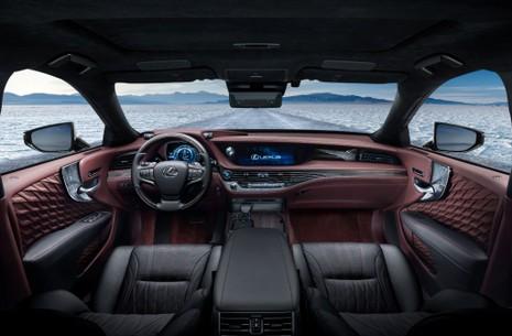 Hào nhoáng mẫu xe Lexus LS 500h hoàn toàn mới - ảnh 8