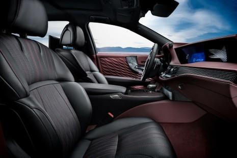Hào nhoáng mẫu xe Lexus LS 500h hoàn toàn mới - ảnh 9