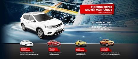 Chương trình khuyến mãi tháng 4 của Nissan Việt Nam - ảnh 2