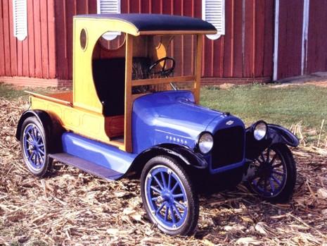 Ngỡ ngàng các mẫu xe tải Chevrolet trong 100 năm qua - ảnh 1