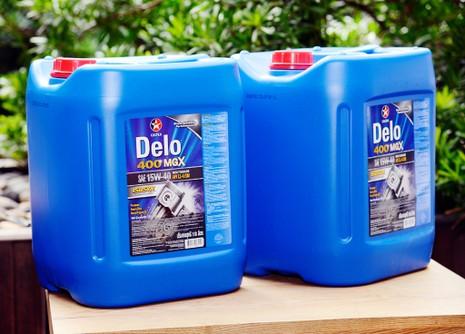 Caltex Delo 400 MGX, dầu nhờn cho xe tải nặng - ảnh 2
