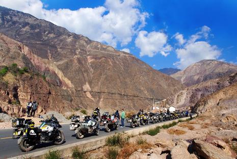 """40 Biker Việt chinh phục """"đỉnh Everest"""" bằng mô tô - ảnh 4"""