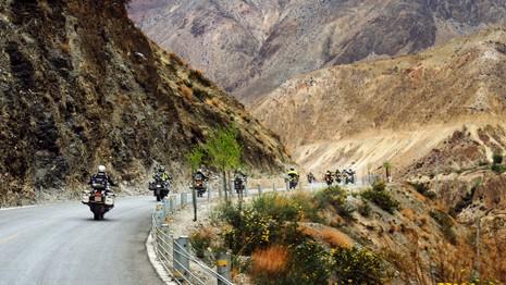 """40 Biker Việt chinh phục """"đỉnh Everest"""" bằng mô tô - ảnh 7"""