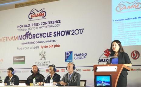 Ngày 4-5, khai mạc triển lãm Mô tô – xe máy 2017 - ảnh 2