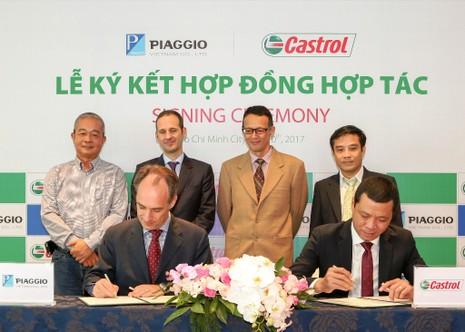 Tập đoàn Piaggio chọn Castrol cung cấp toàn bộ dầu nhớt - ảnh 1