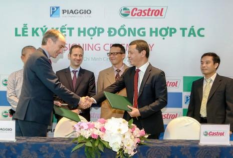 Tập đoàn Piaggio chọn Castrol cung cấp toàn bộ dầu nhớt - ảnh 2