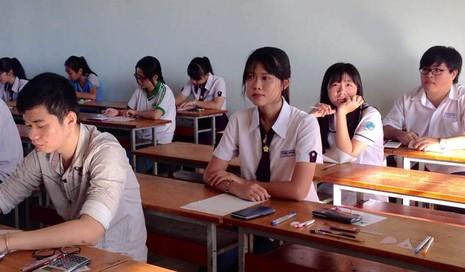 Trường ĐH Luật TP.HCM công bố nhầm điểm thi môn tiếng Anh - ảnh 1