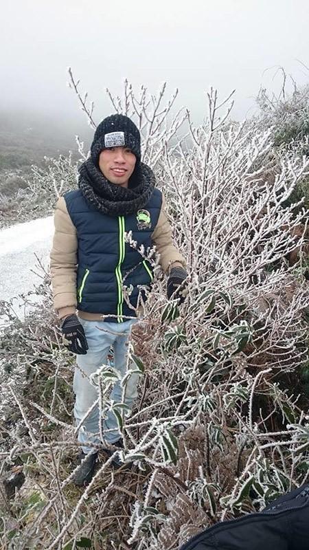 Tuyết phủ trắng ở Nghệ An như... châu Âu - ảnh 4