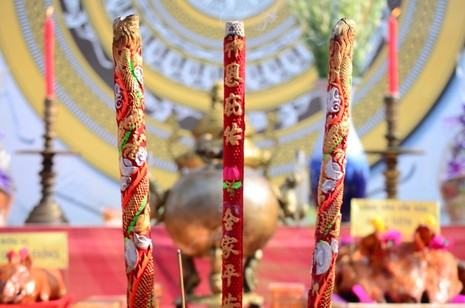 Bí thư Đinh La Thăng dâng hương tưởng niệm các vua Hùng - ảnh 22