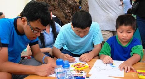 Ấm tình thương trong Ngày Hội của trẻ tự kỷ ở TP.HCM - ảnh 5